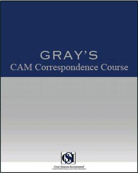 cam correspondence course